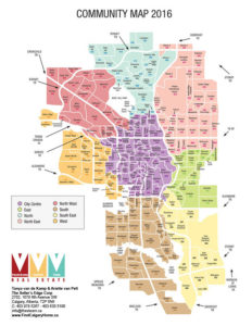 complete calgary community map