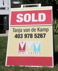 Calgary real estate sold