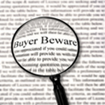 Buyer Beware when buying a home