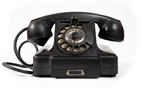 Old fashion phone is one way to communicate with your realtor these days.