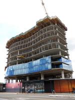 Calgary condo under construction