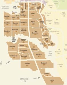 calgary communities south
