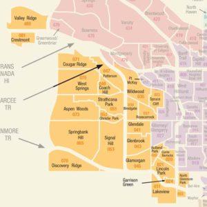 Calgary communities west