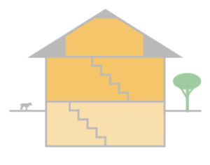 One-and-a-half storey house style